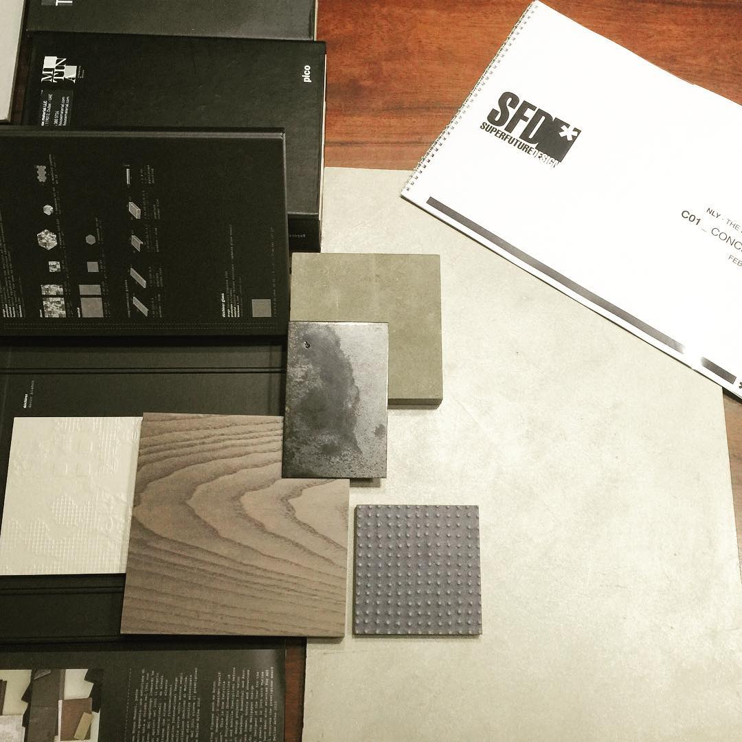 A clooser look - the materials we like -#moodboard#residentialproject