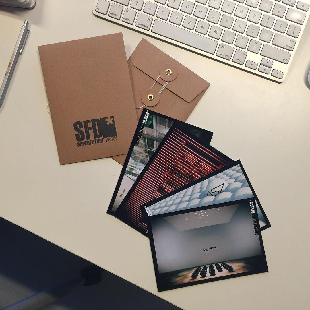 Our new postcard ready to be sent!  #branding #postcards #graphicdesign