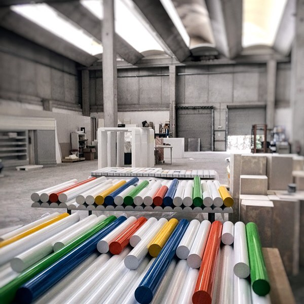 Estra new movable office is taking shape #estraenergia #office #superfuturedesign #playwithcolor