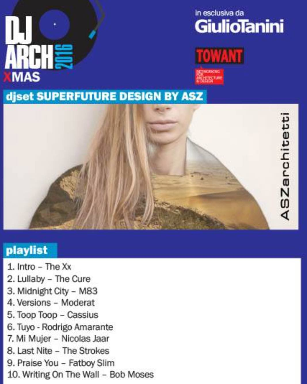 If you like our playlist please #voteforus link in bio. A big thank to @towant for the crazy night yesterday. DJARCH XMAS #djarch #djarchxmas #towant #architectsparty #superfuturedesign #aszarchitetti