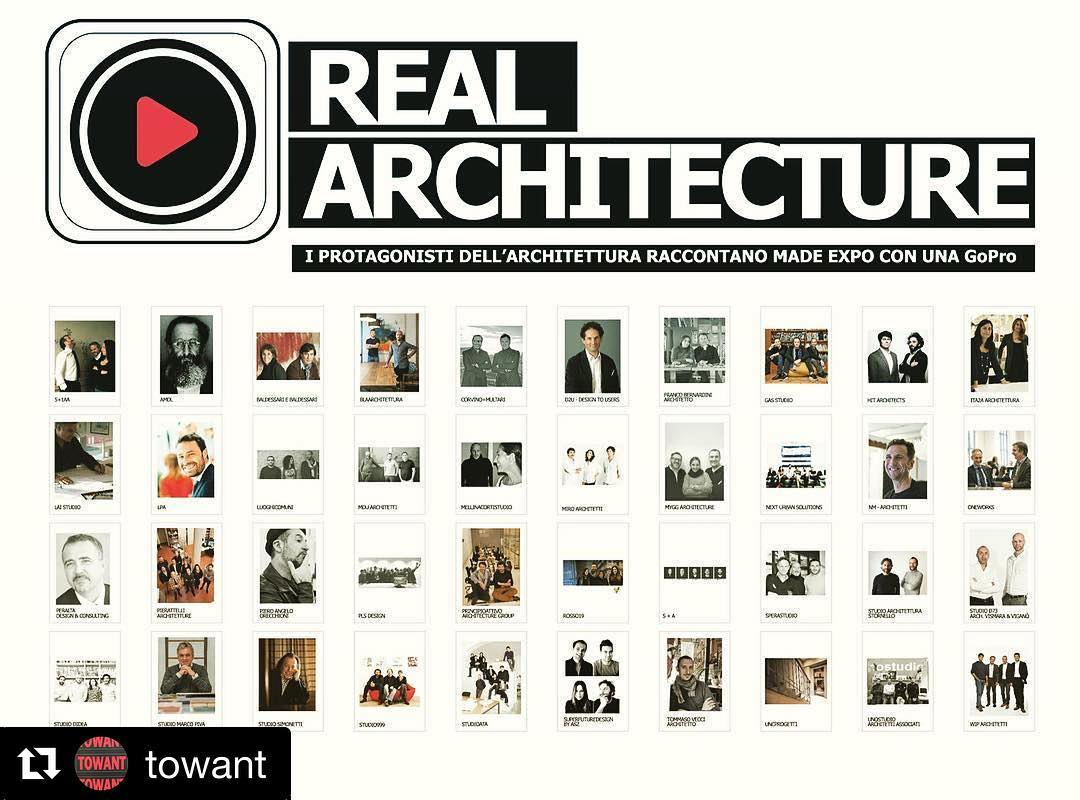 Stay with us Thursday to see the MADE with the eye of #superfuturedesign @towant #madeexpo2017 ・・・ Real Architecture al MADE expo 2017 | 8-11 Marzo . . . I protagonisti dell'architettura raccontano il MADE expo con una GoPro . . . STUDI PARTECIPANTI: . . . 5+1AA | aMDL | Baldessari e Baldessari | BLAARCHITETTURA | Corvino+Multari | D2U - Design to Users | Franco Bernardini Architetto | GaS Studio | arcHITects | Ita2A Architettura | Maurizio Lai Architect | LPA | luoghiCOMUNI | MDU architetti | Mellinacortistudio | Miroarchitetti | MYGG Architecture | Next Urban Solutions | NM - Architetti | One Works | Luca Peralta Studio - design & consulting | Pierattelli Architetture | Piero Angelo Orecchioni Architetto | PLS DESIGN | Principioattivo Architectural Group | Rosso19 | S + A | Sperastudio | Studio Architettura Stornello | Studio D73 Arch. Vismara & Viganò | Studioata | Studio DiDeA | Studio Marco Piva | Studio Simonetti | Studio999 | Superfuturedesign by ASZ | Tommaso Vecci Architetto | uncprogetti | unostudio architetti associati | WIP Architetti . . . Organizzato da TOWANT in collaborazione con MADE expo . . . #MADEexpo2017 #realarchitecture #milano #towant