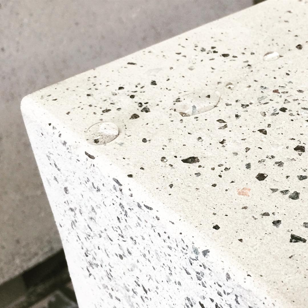 waterproofing test done! Do you understand what it is? #concretelove #concrete #minimalism #productdesign #dubaiinteriordesign