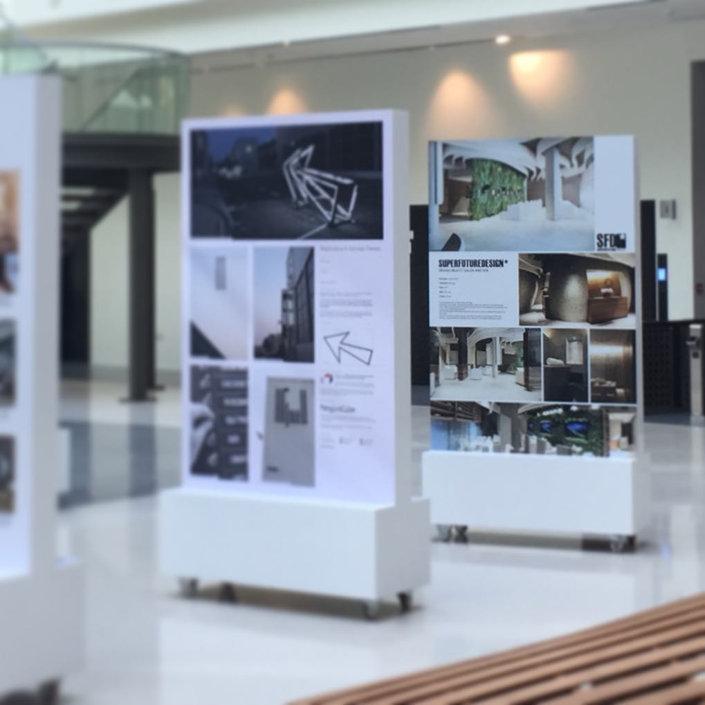 Come to visit the Architectural Exhibition in building 6 Atrium #discoverd3 #dubaidesigndays2017 #ddd17