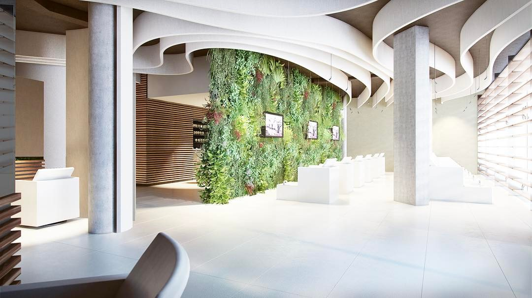 relaxing interiors for oriana spa in jeddah  saudi arabia by superfuturedesign
